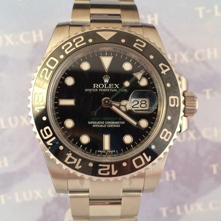 Rolex ref:116710 LN GMT Master 2