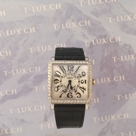Franck Muller Midsize steel diamonds