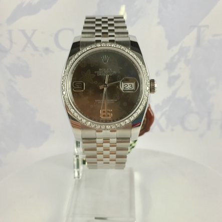 Rolex Date-Just 116200 Diamond Bezel